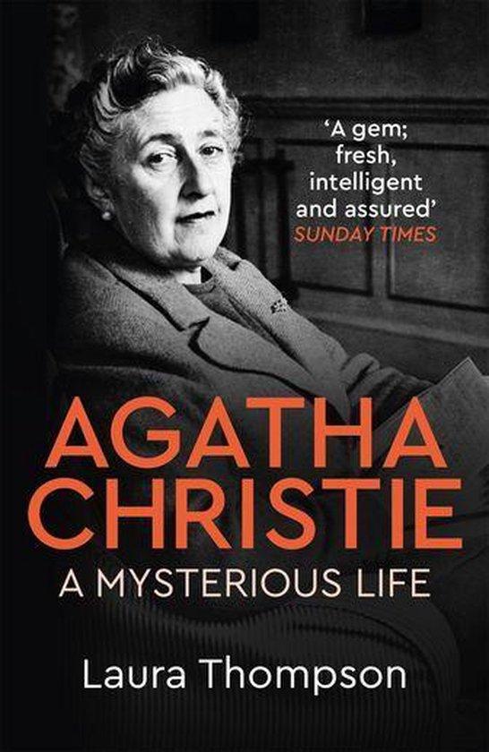 Boek cover Agatha Christie van Laura Thompson (Onbekend)