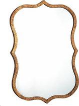 PTMD Lucius Gold Metal Antique Mirror