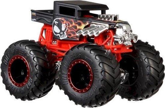 Hot Wheels Monster Trucks 1:64 Schaal DieCast  Bone Shaker (Original Flaming Skull)