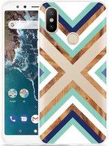 Xiaomi Mi A2 Hoesje Wood Art