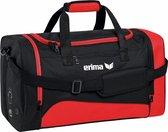 Erima Club 1900 2.0 (M) Sporttas Met Zijvakken - Rood / Zwart   Maat: M