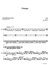 Yes - Changes: Drum Sheet Music