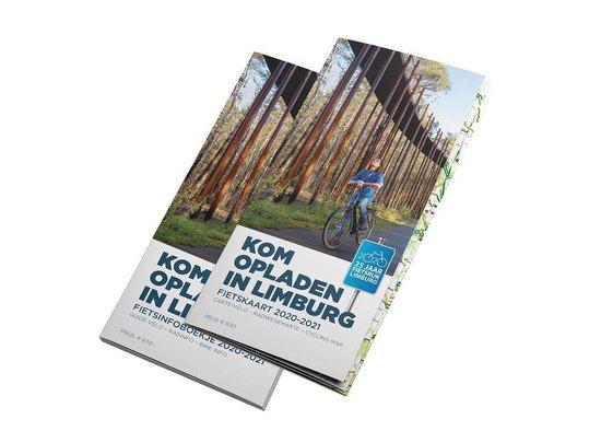 Kom opladen in Limburg - Fietskaart en infoboekje 2020-2021 van Belgisch Limburg