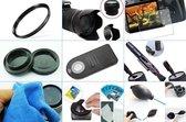 10 in 1 accessories kit voor Nikon D3300 + AF-P 18-55mm VR