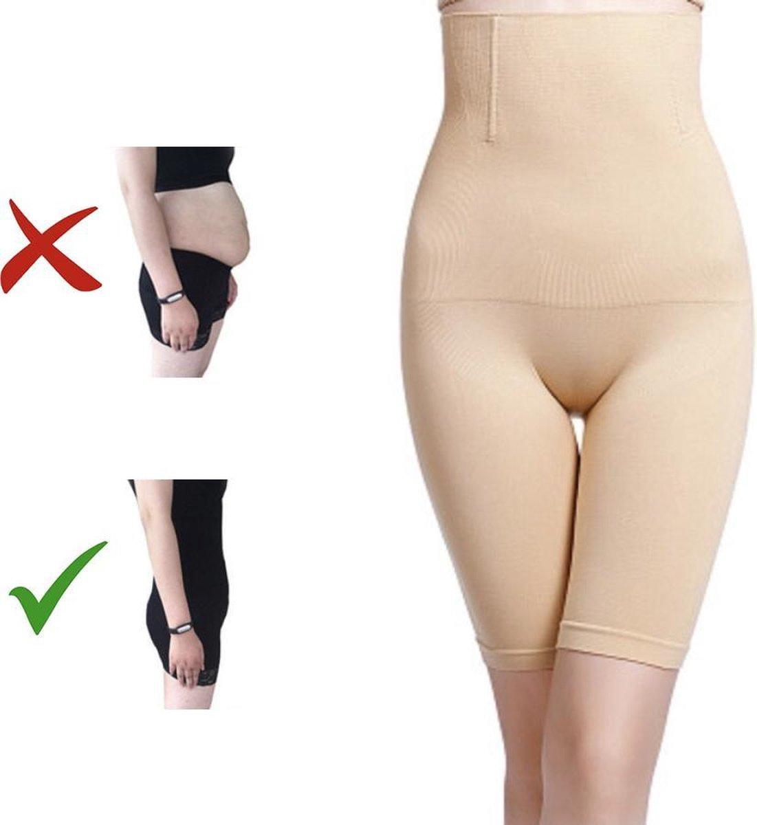 Shapewear dames   Maat XXXXXL   Cr me kleur   Voor billen, buik en dijen   Corrigerend ondergoed   W