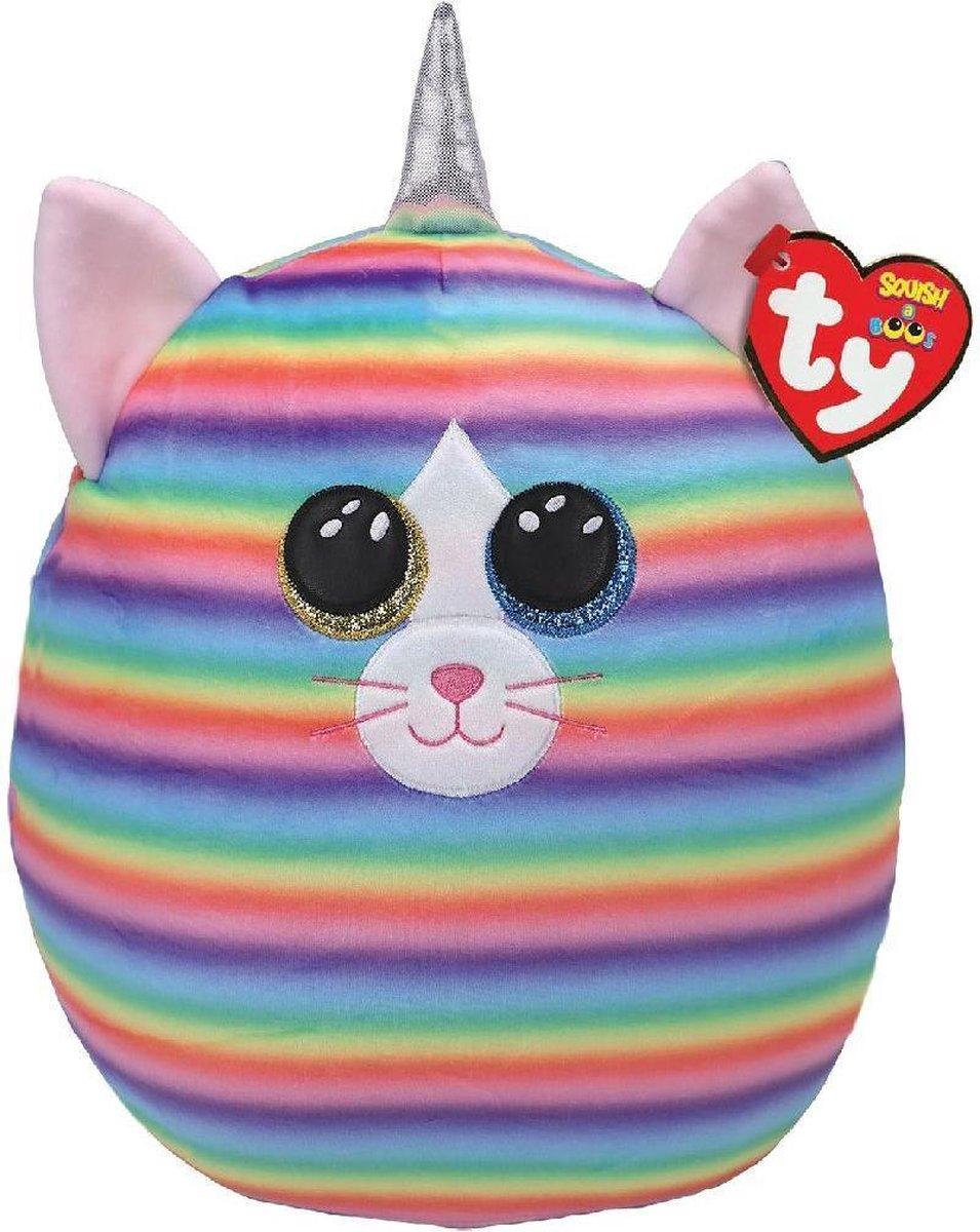 Ty Squish a Boo Heather Cat 31cm