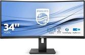 Philips 345B1C - QHD Curved VA Monitor - 34 inch