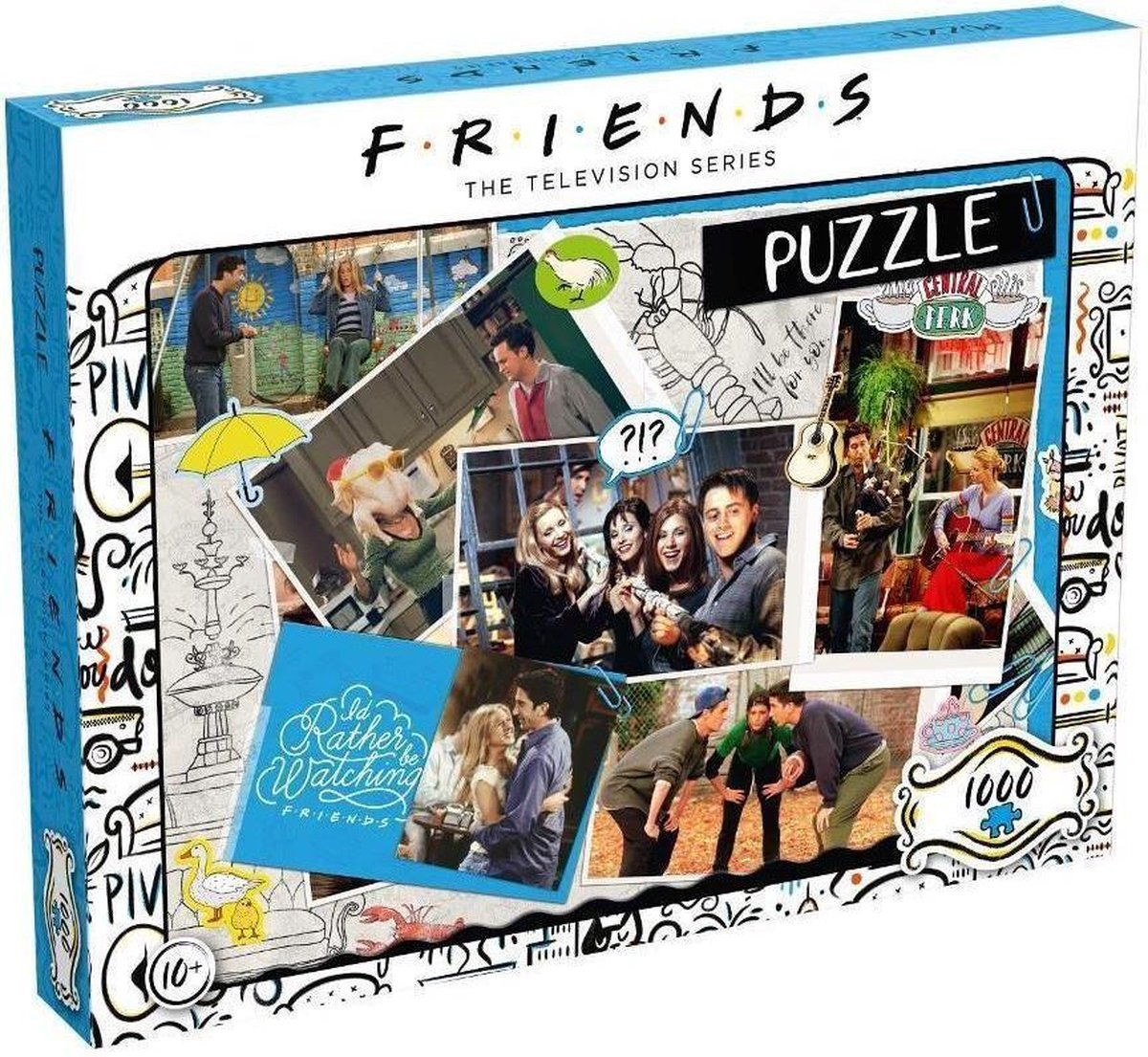 FRIENDS - Scrapbook - Puzzle 1000P