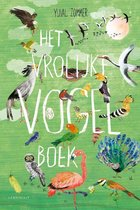 Boek cover Het vrolijke vogel boek van Yuval Zommer (Hardcover)