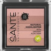 Sante - Natural highlighter - Nude - 7g