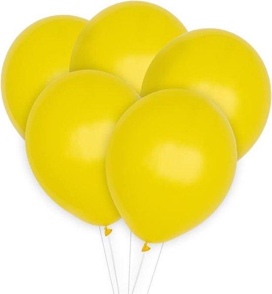 Ballonnen Geel (10st) Perfect Basics House Of Gia