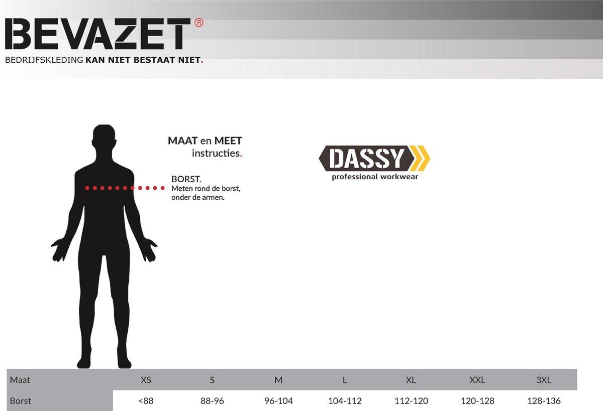 Dassy Tignes beaver winterjas GrijsZwart | Gratis Bezorging