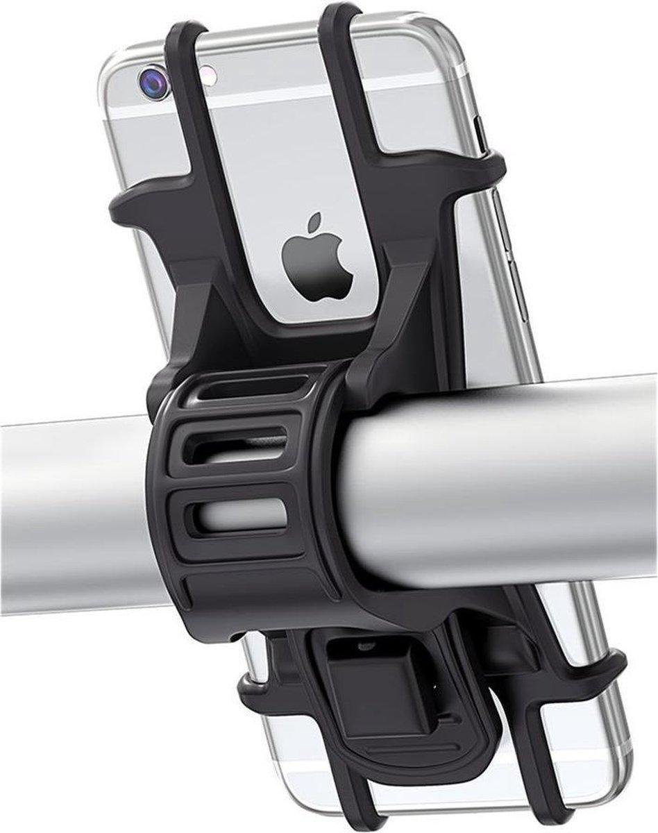 Telefoonhouder - Fiets - Motor - Kinderwagen - Universeel - Telefoon 4 tot 6.5 inch (10 tot 16.5 cm)