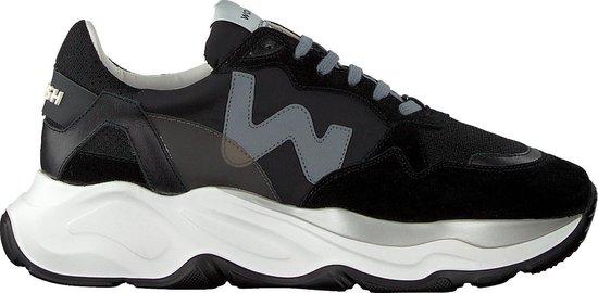 Womsh Heren Lage sneakers Futura Heren - Zwart - Maat 42