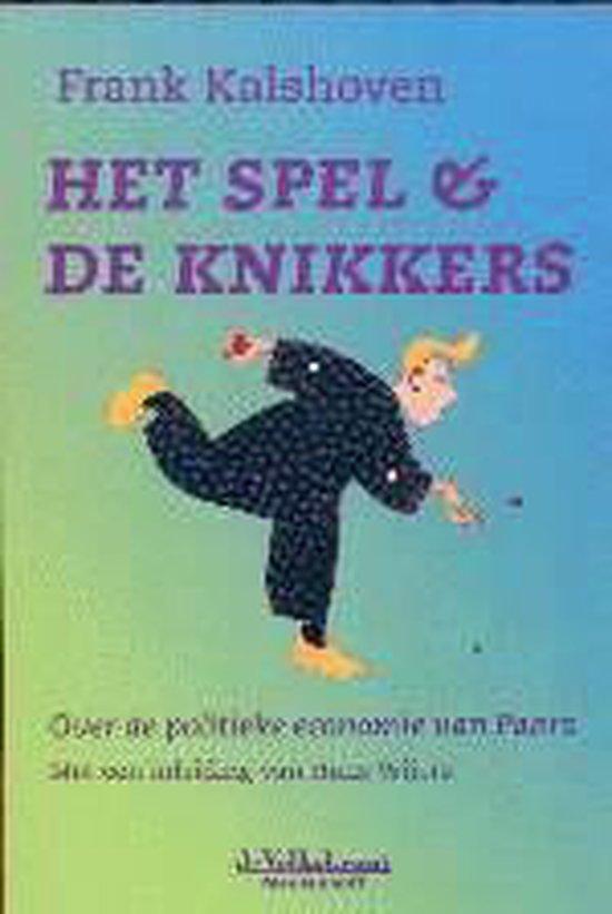 Cover van het boek 'Het spel en de knikkers'