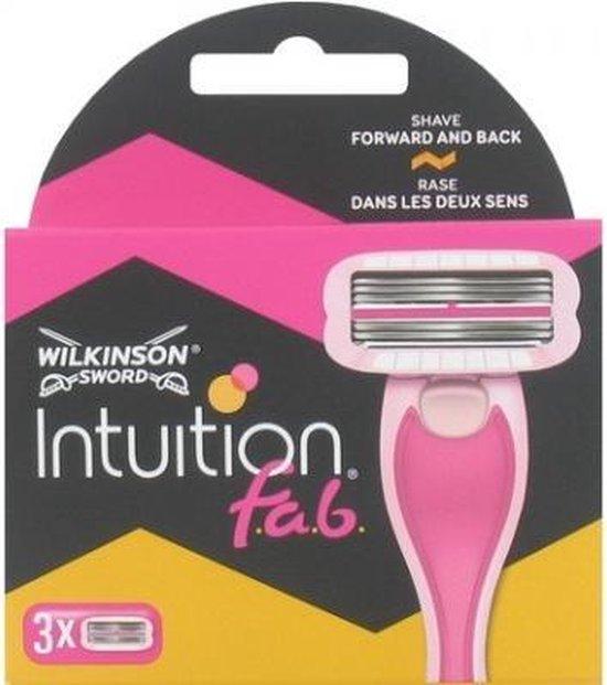 Wilkinson Scheermesjes Intuition f.a.b. - 3 navulmesjes