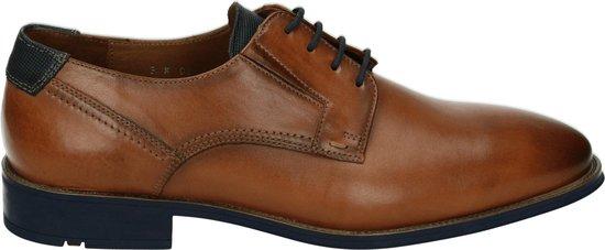 Lloyd Shoes Mannen Veterschoenen Kleur: Cognac Maat: 42