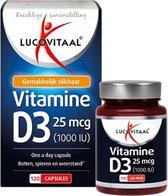 Lucovitaal Vitamine D3 25 microgram Voedingssupple
