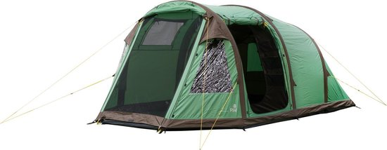 Redwood Arco 300 Air Tent Tunnel Tent - Groen - 4 Persoons