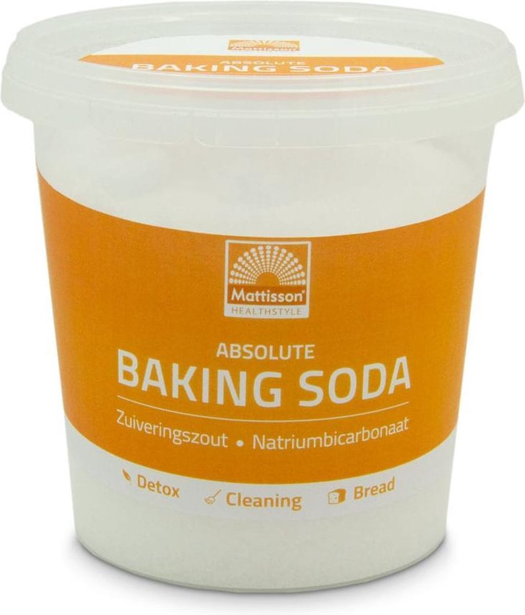 Mattisson - Baking Soda - Zuiveringszout Natriumbicarbonaat