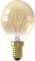 CALEX - LED Lamp - Kogellamp Filament P45 - E14 Fitting - Dimbaar - 4W - Warm Wit 2100K - Amber