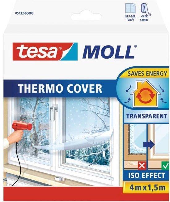 Afbeelding van Tesa tesamoll thermo cover PE raamisolatie folie - 4 x 1,5 meter