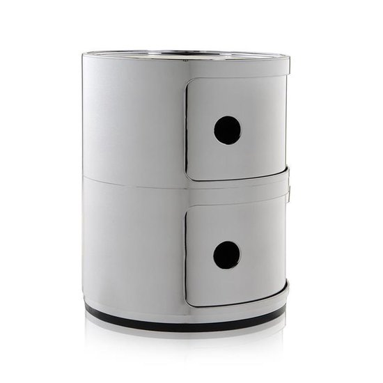 Kartell - Componibili 2 - zilver