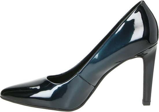 Marco Tozzi Dames Pumps - Blauw Maat 39 WD9ayS