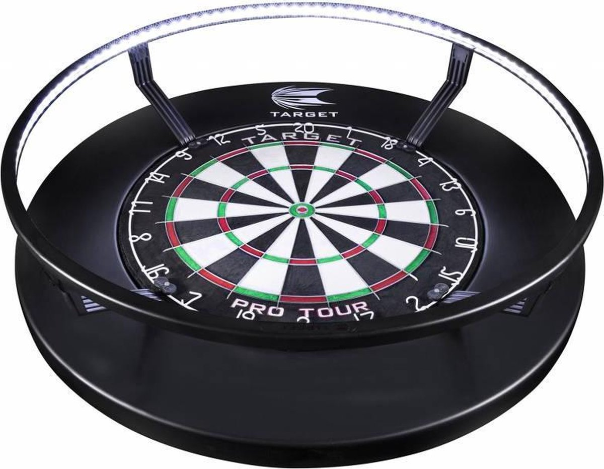 Target darts corona vision - dartbord verlichting 360