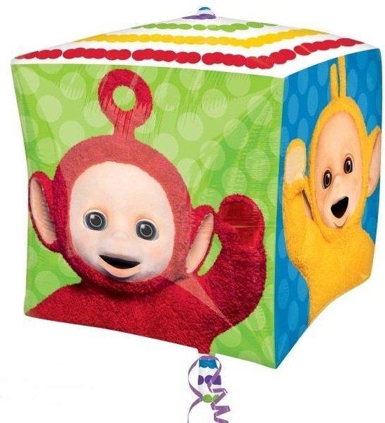 Teletubbies cubez folieballon 38 x 38 cm.