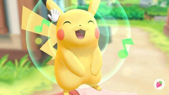 Nintendo Switch Console - Pokémon Let's Go, Pikachu! Bundel