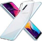 MMOBIEL Siliconen TPU Beschermhoes Voor Samsung Galaxy A50 A505 2019 - 6.4 inch Transparant - Ultradun Back Cover Case