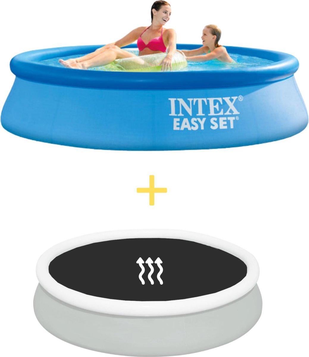 Intex Zwembad - Easy Set - 244 x 61 cm - Inclusief Solarzeil