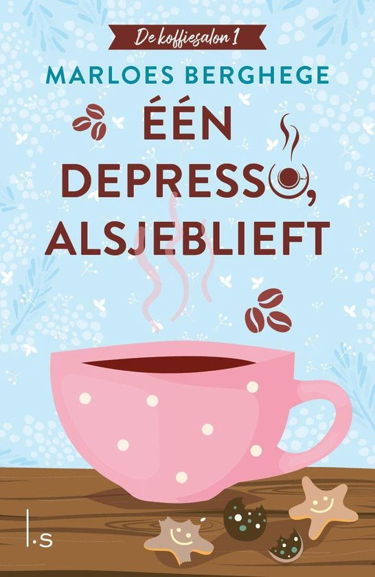 Boek cover Eén depresso, alsjeblieft van Marloes Berghege (Onbekend)