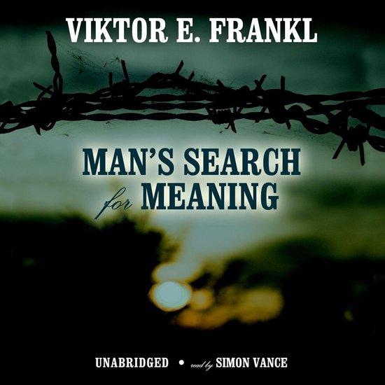Boek cover Man's Search for Meaning van Viktor E. Frankl (Onbekend)