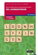 PDL Loonheffingen 2021-2022 Theorieboek