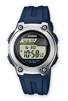 Casio Casio Collection W-211-2AVES Horloge - Kunststof - Blauw - Ø 37 mm