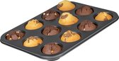 Sareva Muffinvorm 12 Muffins Large - Grijs