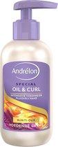 Andrélon Special Oil & Curl Haarcrème - 6 x 200 ml - Voordeelverpakking