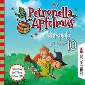 Omslag Petronella Apfelmus, Teil 10: Die verflogene Einladung, Der große Fund, Die Zauberäpfel (Ungekürzt)