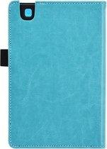 Kobo Aura 2nd edition 6 inch eReader Sleep Cover, Premium Business Case, Betaalbare blauwe Hoes-Sleepcover voor Kobo Aura editie 2 (2016), sleeve / tas