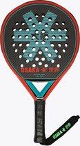 Osaka Vision Pro Padel Racket Precisio - Oxy red/aqua blue - Padel - Padel - Rackets