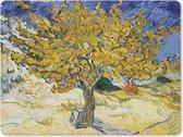 Muismat - Mousepad - Moerbeiboom - Vincent van Gogh - 23x19 cm