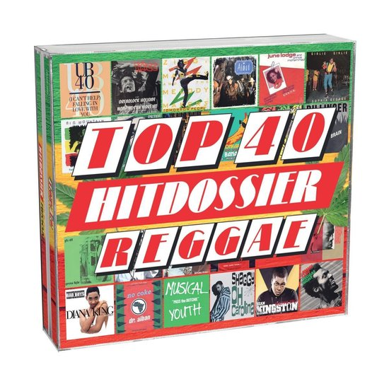 CD cover van Top 40 Hitdossier - Reggae van geen
