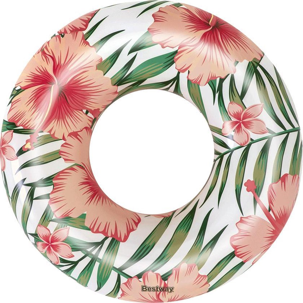 opblaas zwemband palm tree 119 cm