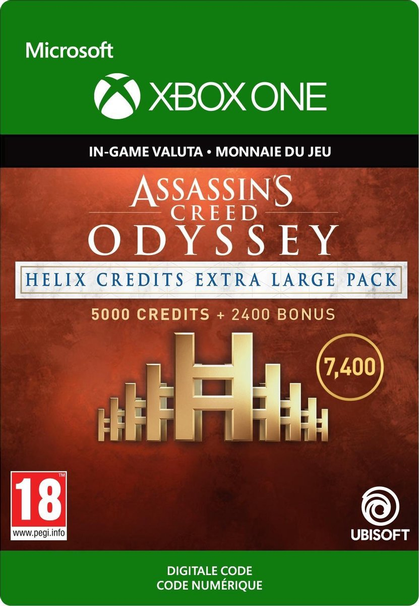 Assassin's Creed Odyssey: Helix Credits XL Pack - Xbox One - Ubisoft
