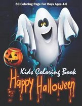 Happy Halloween Kids Coloring Book