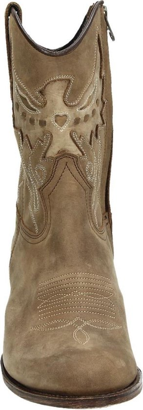 Sendra 16227 Debora cowboylaars Camel Maat 37