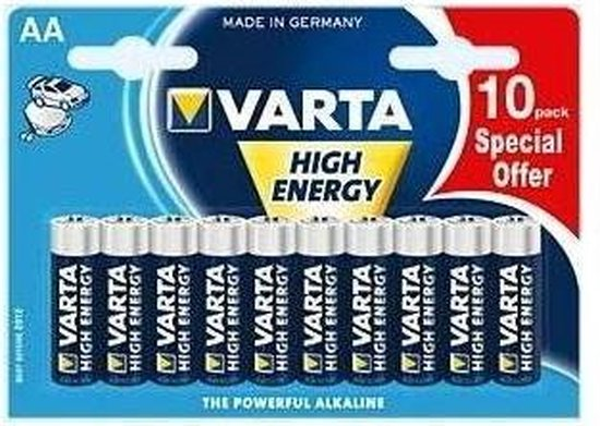 Varta AA Longlife Batterijen - 10 stuks
