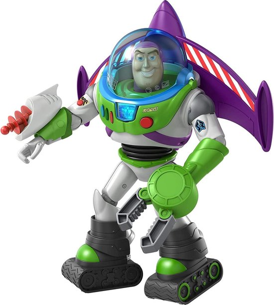 Toy Story 4 - Buzz Lightyear Action Armor (18cm)